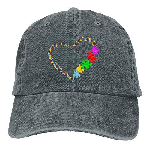 Aceptar Adaptar Abogado Autismo Conciencia Sombrero Autismo Conciencia Gorra de béisbol Puzzle Autismo Trucker Dad Hat
