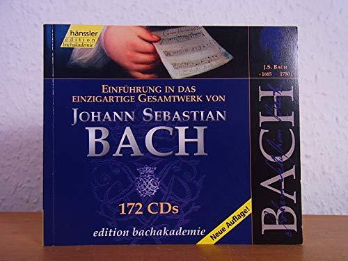Edition Bachakademie. Einführung in das einzigartige Gesamtwerk von Johann Sebastian Bach auf 172 CDs [Begleitbuch ohne Tonträger]