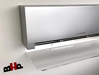 Deflector de aire acondicionado y Split de plexiglás, grosor 4 mm, ancho 80 cm