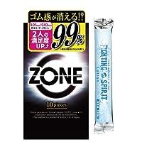 ZONE ゾーン コンドーム 10個入 + ファイティングスピリットローション12mLセット