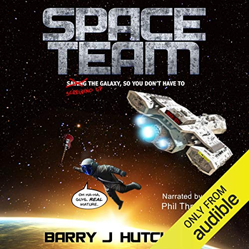 Space Team saga audiobooks series