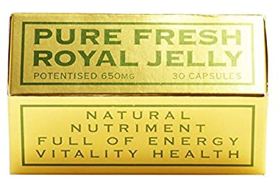 The House Of Mistry Potenised Super Fresh Royal Jelly, 650 Mg, 30 Capsules