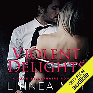 Violent Delights audiobook cover art