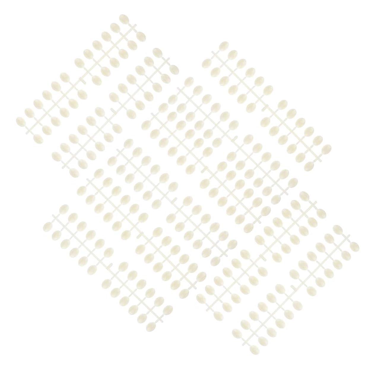 賭け突っ込む肥沃なP Prettyia 10枚 ネイルアートチップ カラーカード ネイルサロン プロ 3タイプ選べ - ラウンドビーズ