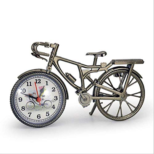 LXYZ Digitaler Wecker, Fahrrad Kleines Fahrrad Zuhause Einrichten Mode Retro Zeit Einrichten Uhr Fotorahmen Uhr Europa Und Amerika Mode