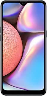 "Samsung Galaxy A10s with Fingerprint (32GB, 2GB RAM) 6.2"", Android 9.0, Dual SIM GSM Factory Unlocked A107M/DS - US + Global 4G LTE International Model (Black, 32GB + 64GB SD Bundle)"