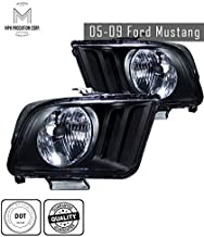 MPH 05-09 Mustang OEM Driver & Passenger Replacement Headlights Lamps Assembly