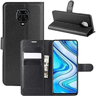 Capa Capinha Carteira Couro 360 Para Xiaomi Redmi Note 9s E 9 Pro 6.67 - Case Flip Wallet Danet (Preta)