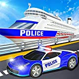 US Police Cruise Ship Driving 3D Games 2020