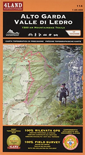 Alto Garda - Valle di Ledro: 1500 KM MOUNTAINBIKE TRAILS