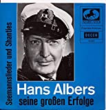 Seemannslieder und Shanties - Hans Albers- Single 7