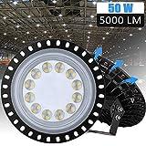 LED Industrielampe UFO, LTPAG 50W LED Hallenleuchte...
