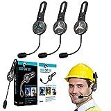 BuddyChat Trio Bluetooth Intercom Helm Headset Freisprechanlage Funkgerät 1000m