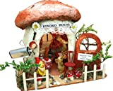 Ouchi kit mushroom house 8373 of Billy handmade dollhouse kit forest (japan import) by Billy 55