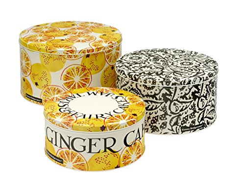 Emma Bridgewater Toast & Marmalade Set of 3 Round Cake TINS, Metal, Various
