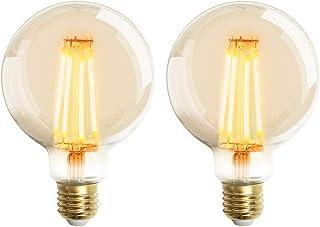 comprar comparacion Extrastar Bombilla Edison Vintage 4W LED Retro Decorativa Bombillas Lamparas Blanco Cálido 2200K 400LM G95 E27 Antigua Lám...