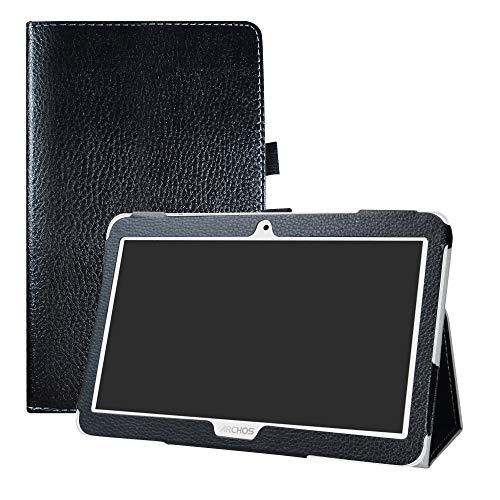 LFDZ Access 101 3G Custodia, Slim Ultra Pelle Sottile e Leggera Cover Case Custodia per 10.1  Archos Access 101 3G Tablet(Not Fit Access 101 WiFi),Nero