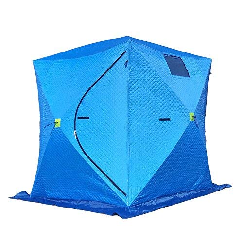 Qazxsw Frame Tents Fishing Tent Windproof warm Hunting Shelter 4 Season 3-5 People Sport Camping Picnic