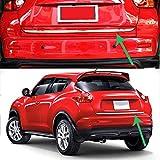 MNBX Tronco per Auto Portellone Coperchio Coperchio Trim per Nissan Juke 2011-2017 Coperchio Cromato Trim Stampaggio Decorazione Fasce Decorative e protettive per Auto