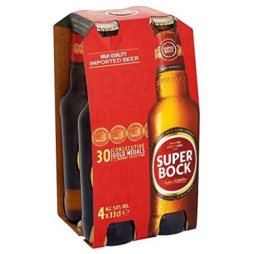 Super Bock Lager 4 x 33cl (Pack de 6 x 4x330ml)