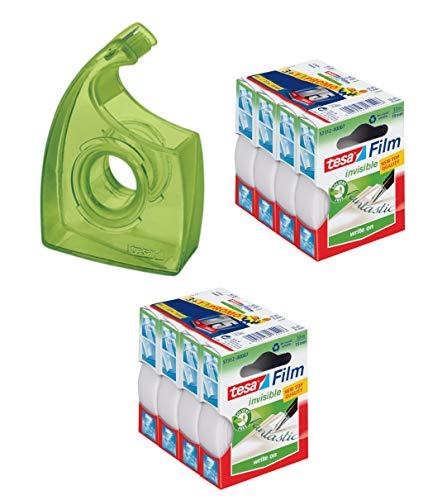 Tesa Easy Cut Dispensador EcoLogo hasta 33m: 19mm, Verde...