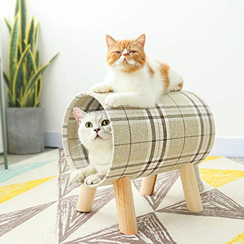 N\A Cat Beds, Cylinder, Pet Hammock. Comfortable Cat Pet Bed, Pet Supplier, Play Tunnel Tube, Cat Sleeping Sofas Mat