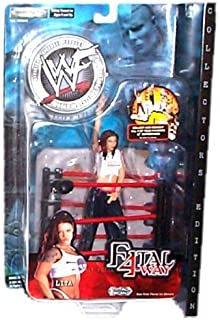 WWF (World Wrestling Federation) - Fatal 4Way - Lita Figure w/accessories - C...