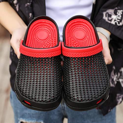 Tanxianlu slippers man blauw zwart heren slippers zomer slip strand slippers ademende schoenen