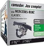 Rameder Attelage escamotable pour Mercedes-Benz Classe C + Faisceau 13 Broches...