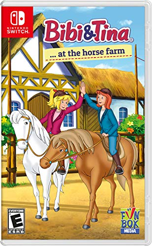 Bibi & Tina at The Horse Farm - Nintendo Switch Only $14.99 (Retail $29.99)