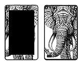 caseable - Skin per Fire (tablet 7 pollici, 5ª generazione - modello 2015), Ornate Elephant