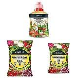 Semillas Batlle Abonos Ecológicos - Fertilizante Ecológico Batlle 400ml - Batlle 960002PIC Sustrato Universal, 10 l + Sustratos - Sustrato Universal 5l