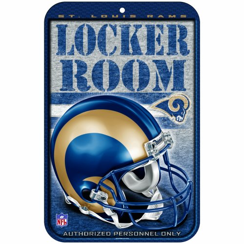 Wincraft NFL LOS Angeles RAMS Locker Room Schild