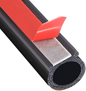 Rubber Door Seal Strip Big D Type Windshield Seal Strip Noise Insulation Car Rubber Waterproof For Automobile Seals