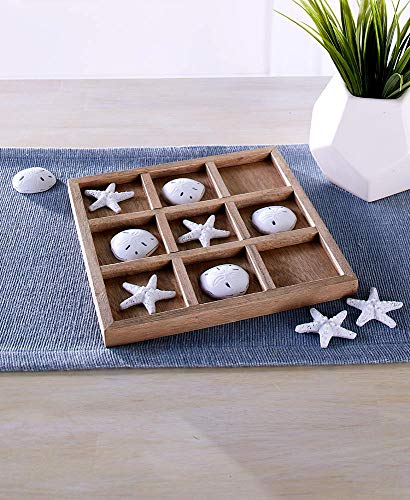 LCI Coastal Tic-Tac-Toe Board Game Set