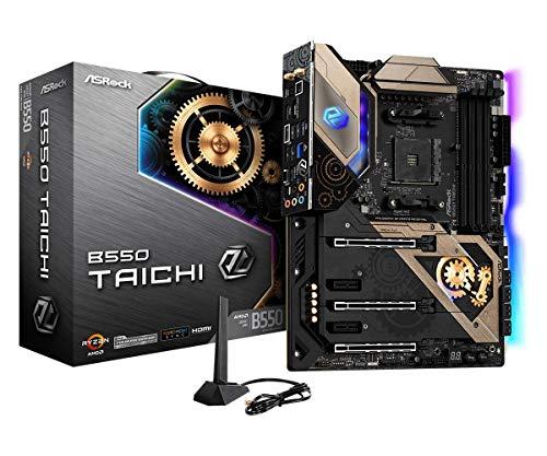 ASRock B550 Taichi Supports 3rd Gen AMD AM4 Ryzen Future AMD Ryzen Processors Motherboard
