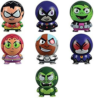 Teen Titans Go! Collectible Characters: Buildables - Set of 7