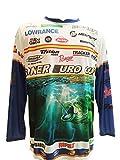 Camiseta Tecnica Pesca Manga Larga. Especial Campeonato SONER Euro Cup. Pesca DE Black Bass (T. S)