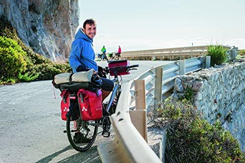 VAUDE Aqua Back Fahrrad Tasche – wasserdichte Gepäckträger Tasche im praktischen 2er Set – Fahrradtasche aus robustem & PVC-freiem Planenmaterial – Made in Germany - 4