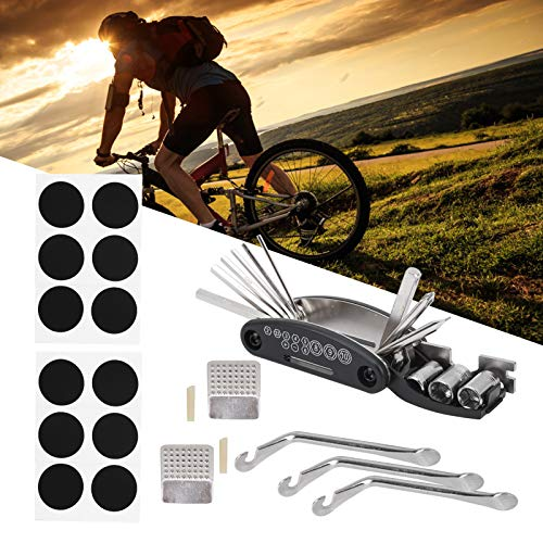 jadenzhou Bicycle Tyre Repair Kit, Cycling Bike Tools & Equipment Bike Puncture Repair Tool, Bicycle Repair Kit for bicycle bike tools repair home