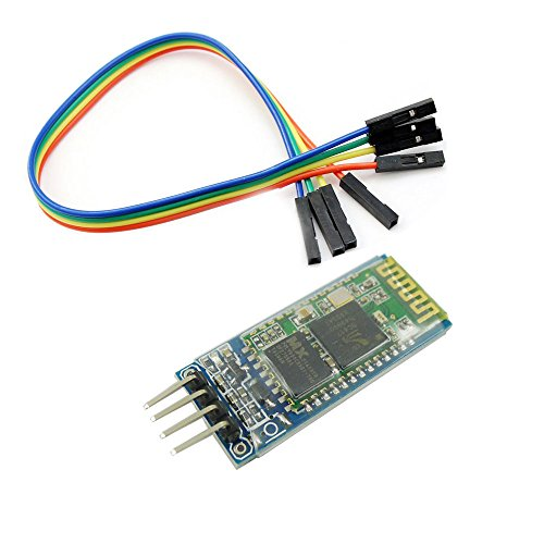 Aihasd Wireless Bluetooth RF Transceiver Module HC-06 RS232 4 Pin Serial With Backplane for Arduino UNO R3 Mega 2560 Nano