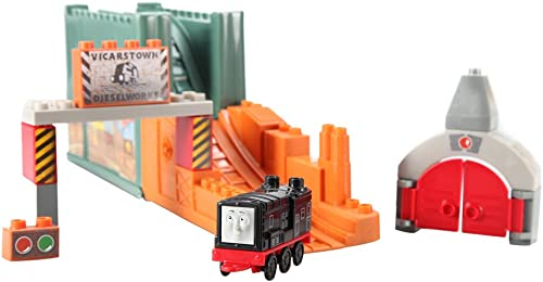 Thomas the Tank Engine Mega Bloks petit bucket diesel 10583 Diesel 6467b [[toy MEGA BLOKS HOMAS] (japan import)