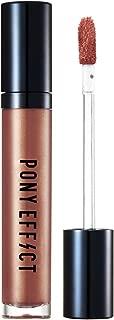 PONY EFFECT Metallic Matte Lip Color #Gold Digger 5.5g, 0.2 Ounces, Liquid lip gloss, 90's Metallic lip, Matte Finish, Long-lasting color, Gold pearl, Rose gold color