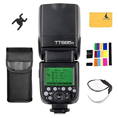 Godox TT685o TTL Flash HSS High Speed 1 / 8000s GN60 Kamerablitz Speedlite Licht für Olympus E-M10II E-M5II Kamera und Panasonic DMC-CX85 DMC-G7 Kamera