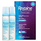 Regaine for Women Once A Day Hair Loss & Regrowth Scalp Foam Treatment with Minoxidil, 2 x 73 ml, 4 Month Supply