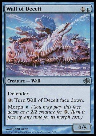 Magic The Gathering - Wall of Deceit - Duel Decks: Jace vs Chandra