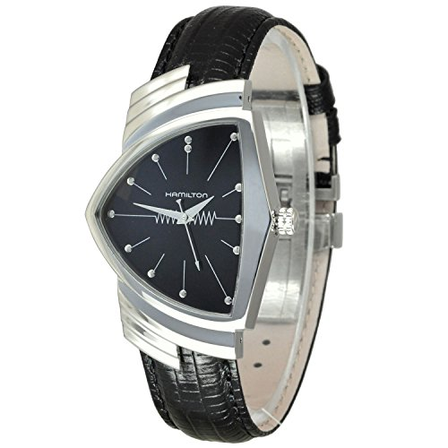 Gifts and Jewels Co. Hamilton Hamilton Ventura Nero Quadrante Mens Orologio H24411732