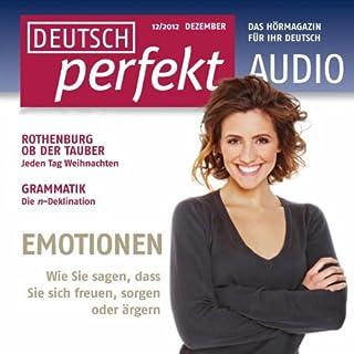 Deutsch perfekt Audio - Emotionen. 12/2012 cover art