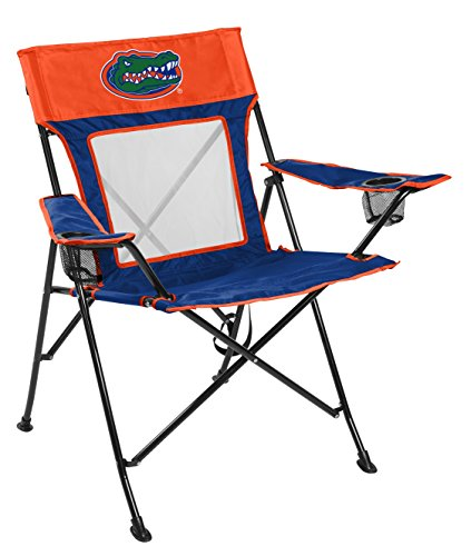 Rawlings NCAA Game Changer Large Folding Tailgating and Camping Chair, with Carrying Case (ALL TEAM OPTIONS), Florida Gators