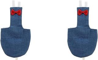 gazechimp 鳥かご アクセサリー バードオムツ 再利用可能な 布おむつ 2個